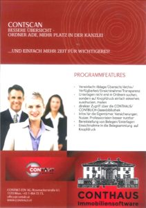 Immobilienverwaltung mit CONTSCAN